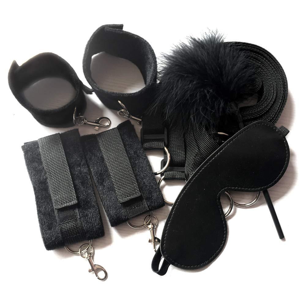 Dark night black protective gear combination