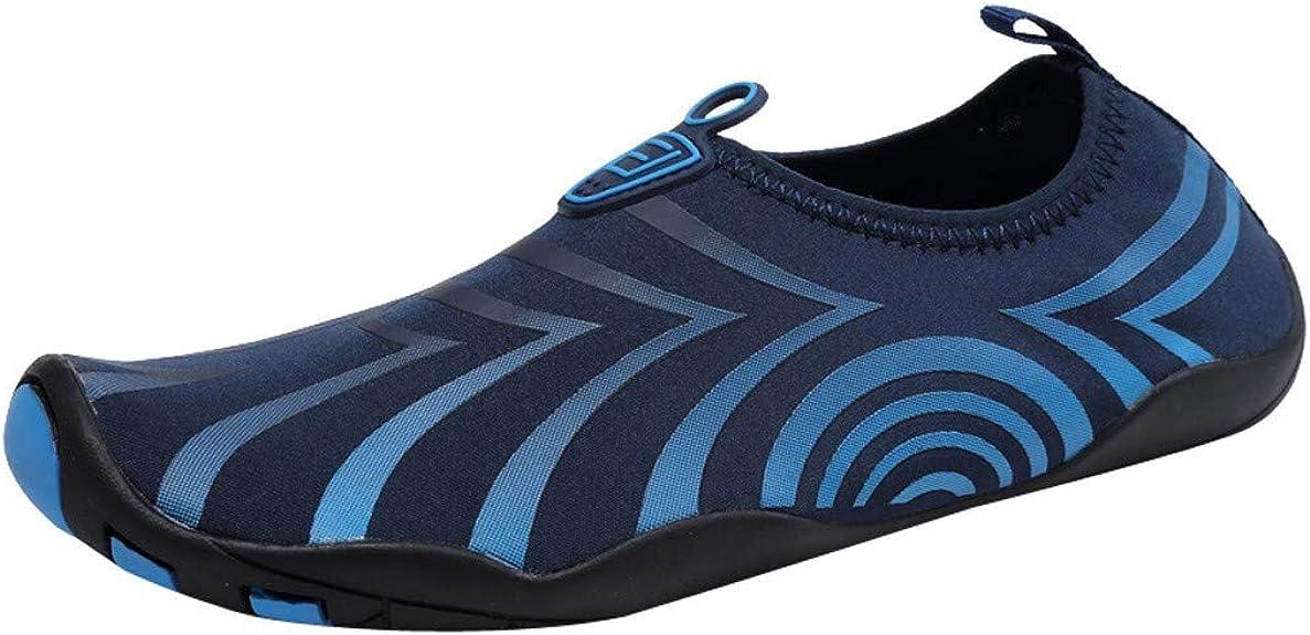 Jodier Calzado de Agua para Hombre Natación Descalzo Buceo Surf Yoga Deportes acuáticos Playa Caminar Yoga Zapatos Running Hombre Mujer Trail Fitness Sneakers Ligero Transpirable: Amazon.es: Zapatos y complementos