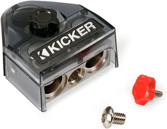 Kicker 44 kxa4001 coche amplificador audio Sub kxa400.1 & 4 GA ...