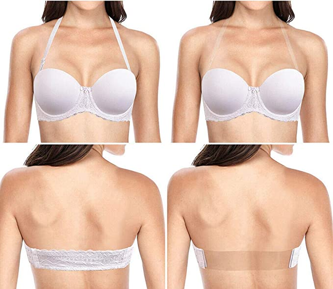 3a45fdf44f9 Women's Strapless Pushup Plus Size Bra Underwire Lightly Padded ...