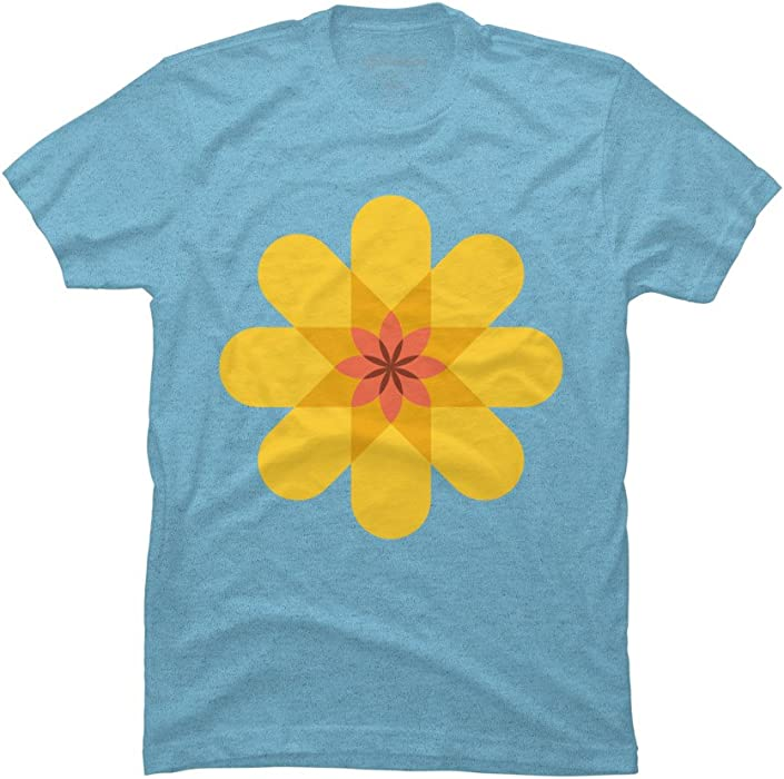 be05f5e00 Sunflower Men's Small Sky Blue Heather Graphic T Shirt - Design By Humans