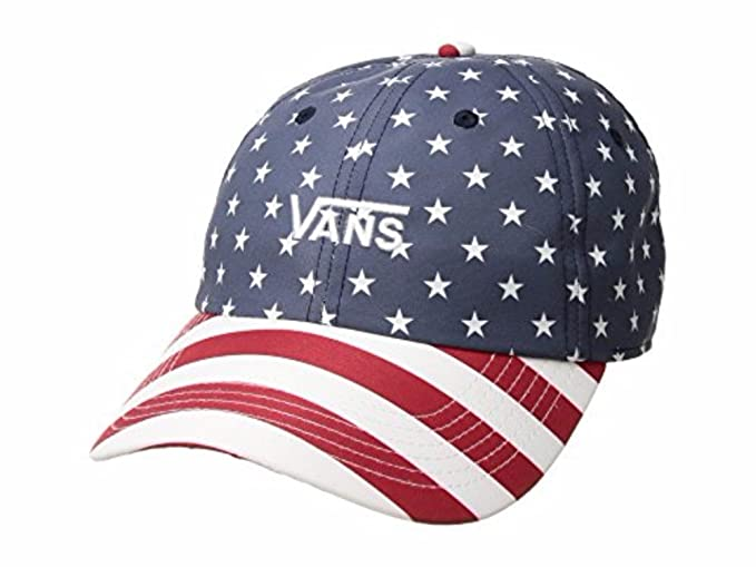 3db7c3045b9 Image Unavailable. Image not available for. Color  Vans Court Side Printed  Hat RHS-Stars Stripes OS