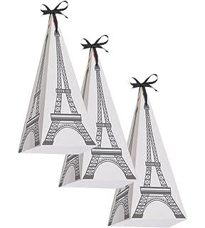 Amazon.com: Outus 15 Pieces Eiffel Tower Keyring Retro ...