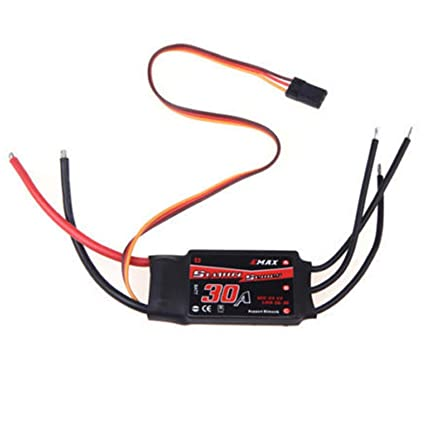 BRUSHED ESC 30AMP rc boat aircraft car speed controller 30A max