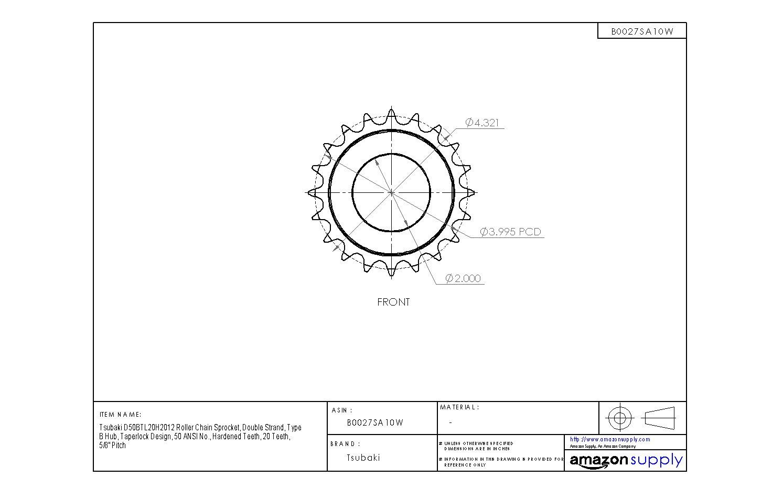Chloroprene 1 Wide Jason Industrial 1622V336 Variable Speed Belt 33.6 Long