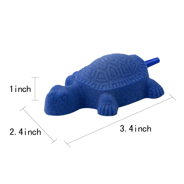 Amazon.com : Saim Turtle Shape Aquarium Fish Tank Air Stone ...