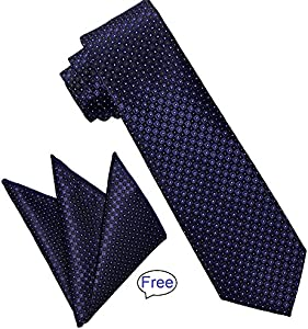 Win A Free Jacquard Woven Necktie for Men By Yakee Lemon-Luxury Paisley…