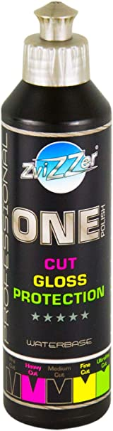 Zvizzer One Polish Cut Gloss Protection Politur Lackpolitur Polieren 250 Ml Auto