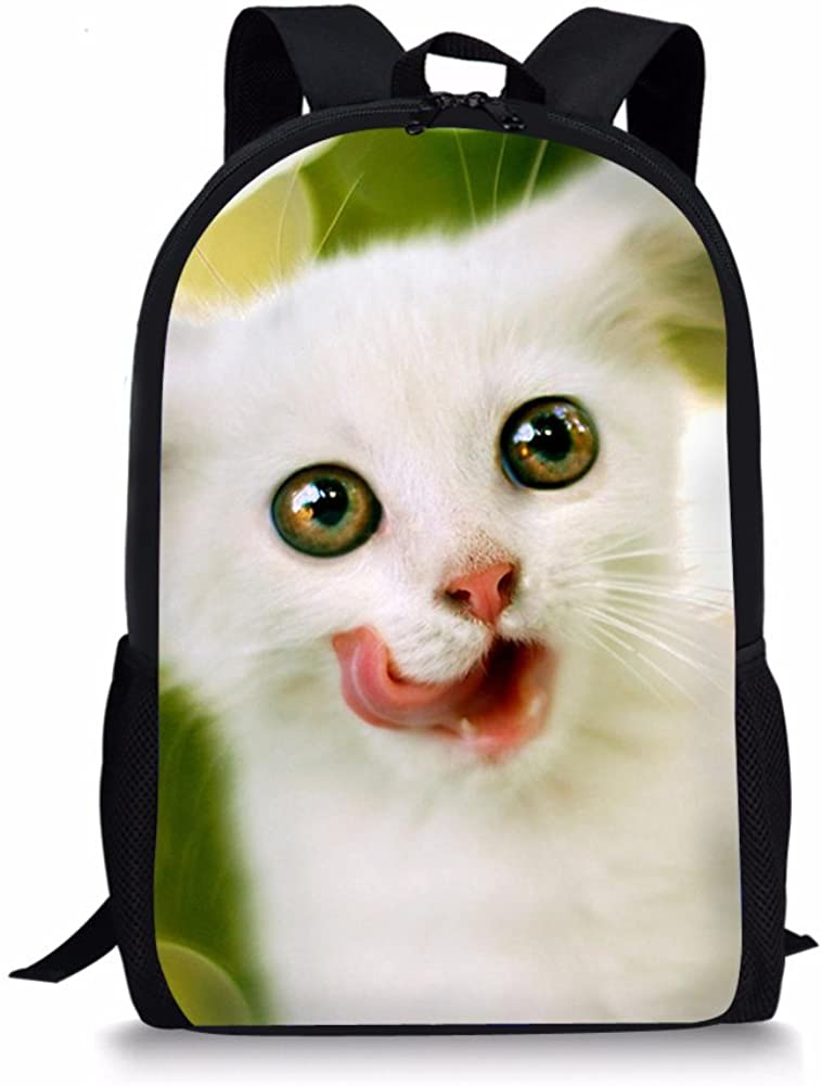 FOR U DESIGNS Fashion School Bag for Boys Girls 3D Animal Shoulder Backpack