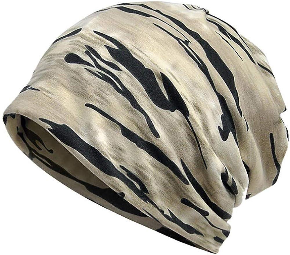 Topgrowth Cappello Donna Uomo Beanie India Cappellino Musulmano Elastico Cappello da Turbante Avvolgere Berretto Mimetico