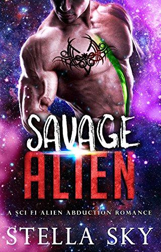 Savage Alien (A Sci Fi Alien Abduction Romance) (Vithohn Warriors)