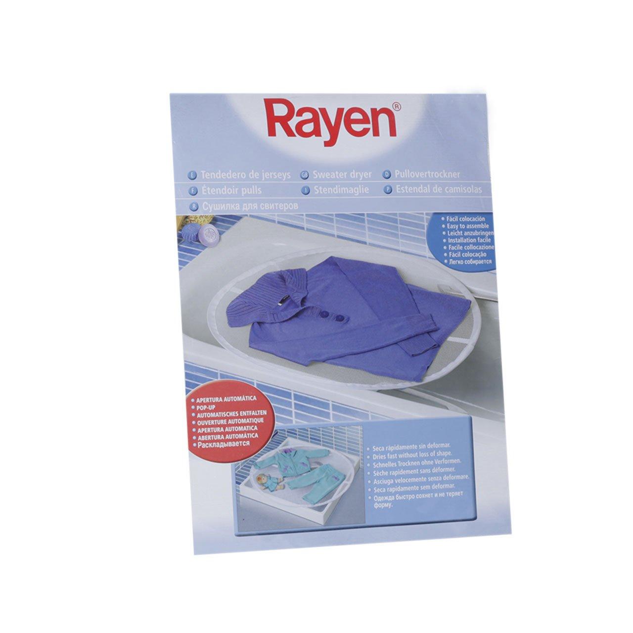 con Apertura autom/ática 77 x 75 cm Tendedero para Jerseys Rayen 6094