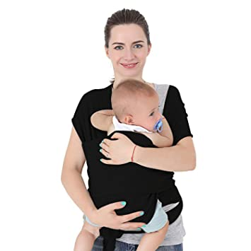 Amazon Com Baby Wrap Carrier Sling Specialized Stretchy Baby