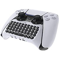Wireless Keyboard Compatible with PS5 Controller, YUANHOT Accessories Bluetooth 3.0 Gamepad Compatible with Playstation…