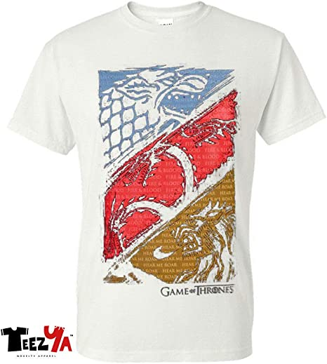 Mens and Womens GAME Of THRONES TARGARYEN LANNISTER T-Shirt   up to 5xl STARK