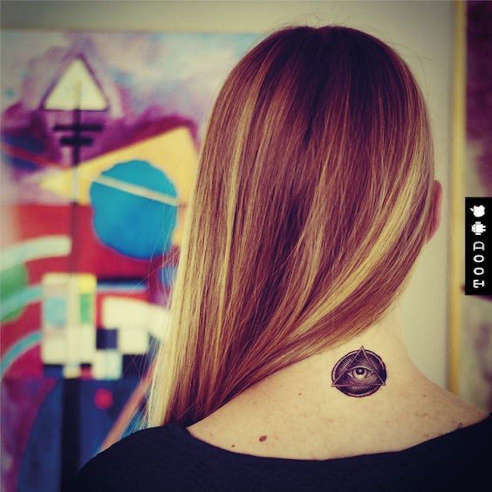 Tatuaje Temporal de Illuminati confirmado (2 Piezas) - www.ohmytat ...