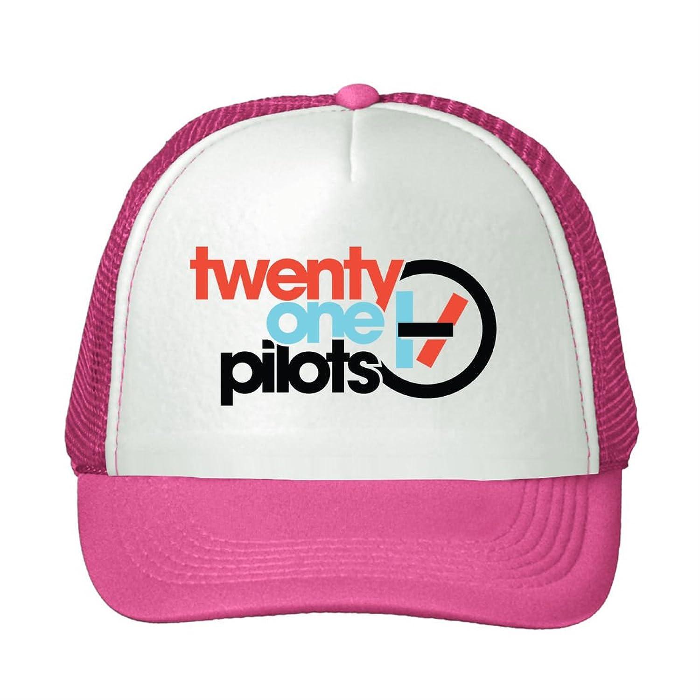 LEU Unisex Twenty One Pilots 2016 Logo Adjustable Trucker Hat