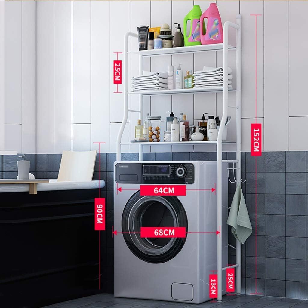 Estante de la lavadora Práctico estante lavadora, hierro ...