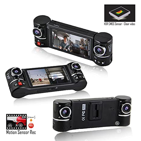Dash Cam Indigi® 2,7 pulgadas FHD 1080p coche vehículo Dashboard DVR cámara grabadora