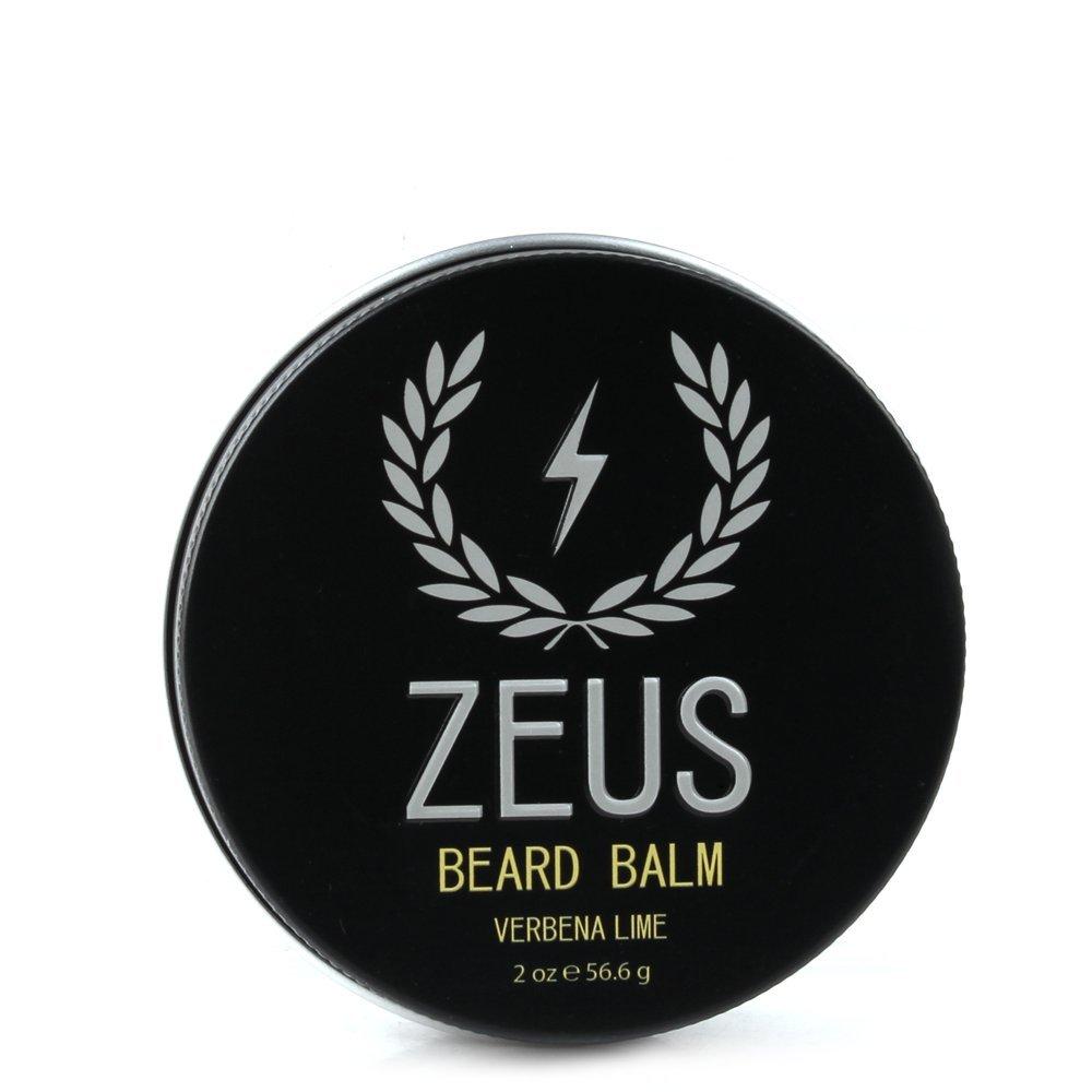 ZEUS Conditioning Beard Balm, Verbena Lime, 2 Ounce