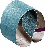 quick belt system - United Abrasives SAIT 64059 Closed Coat Zirconium 1/2-Inch X 18-Inch ZH 40 Grit Quick Ship Sanding Belt, 10-Pack