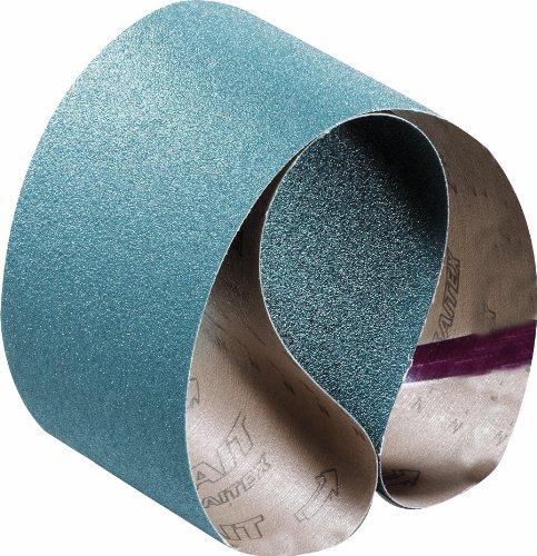 United Abrasives-SAIT 64058 Closed Coat Zirconium 1/2-Inch X 18-Inch ZH 36 Grit Quick Ship Sanding Belt, 10-Pack