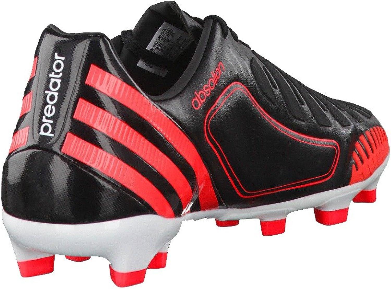 adidas Predator Absolion LZ TRX FG Negro de Color Rojo Negro ...