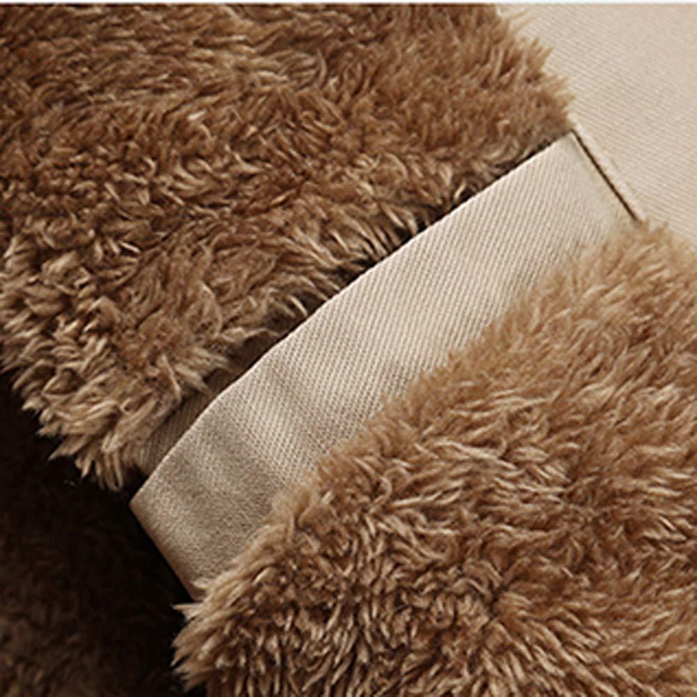Gran promoción! Abrigo Casual de Invierno para Hombre Capa Cortaviento de algodón de Terciopelo Engrosamiento mediode de Internet: Amazon.es: Ropa y ...