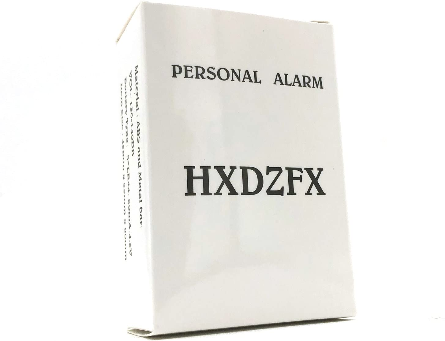 3 Pack HXDZFX Emergency Personal Alarm,135DB Self-Defense Electronic Device Security Alarm Keychain with LED Light for Women Kids Girls Elderly Safety
