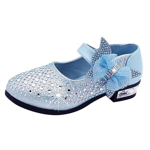 Mädchen Sommer Prinzessin Absatz Schuhe Kinder Glitter Sandalen Hochzeitsschuhe