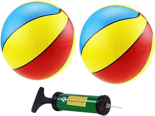 NUOBESTY 2 unids Balones inflables de Baloncesto Deportes Juguetes ...