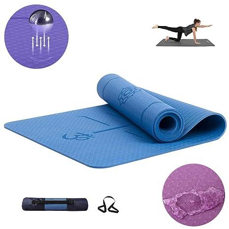 ZQSLD Colchoneta de Yoga Esterilla Yoga,Yoga TPE, Grueso ...