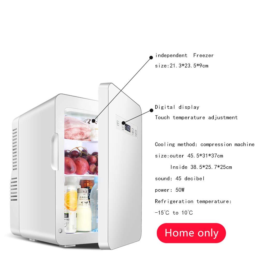 XUEER Refrigerador del Coche,22L Coche portátil y Uso Familiar ...