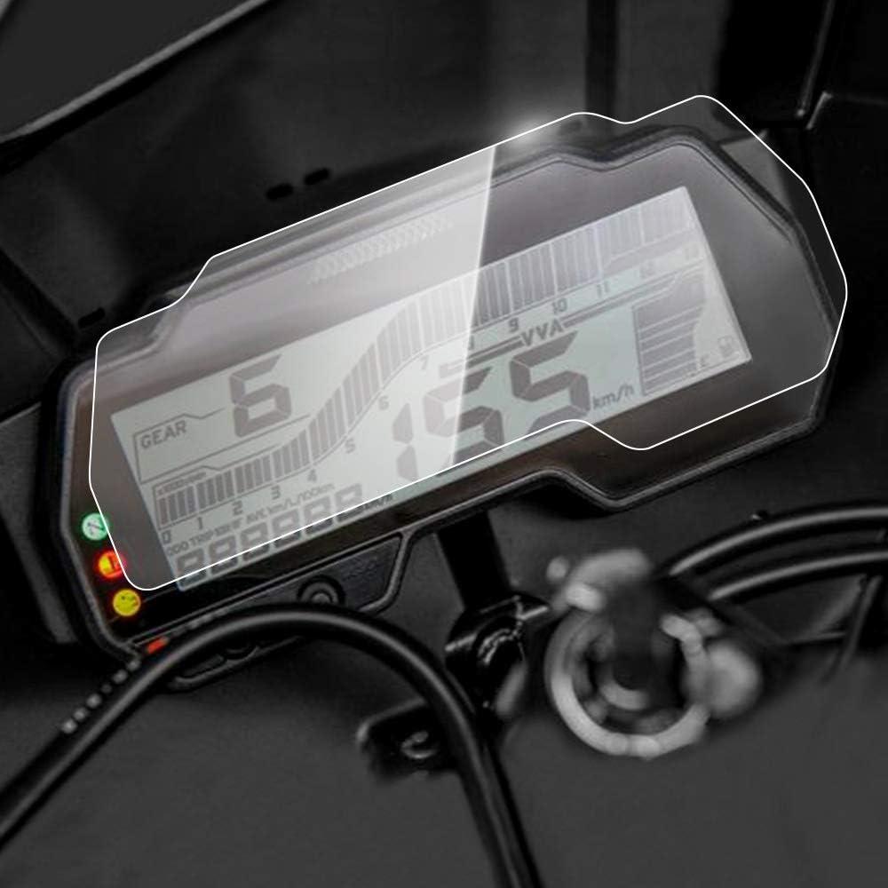 Displayschutzfolie Tachoschutzfolie Screen Protector Aufkleber passend f/ür Yamaha YZFR6 YZF600 R6 2017-2018,2 x Ultra Klar