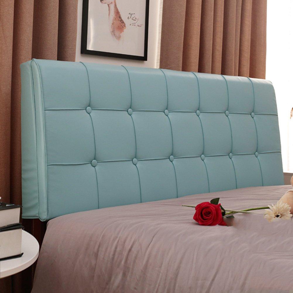 QIANGDA クッション ベッドの背もたれ防水 疲れを和らげる シングル/ダブルベッドルーム、 厚さ5cm、 12種類のソリッドカラー、 4サイズ オプション ( 色 : 1# , サイズ さいず : 150 x 60cm ) B07B75NWTV 150 x 60cm|1# 1# 150 x 60cm