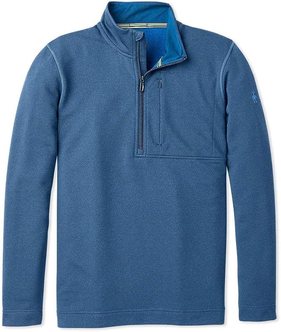 Men/'s /½ Zip Performance Pullover Smartwool Merino Sport Wool Fleece