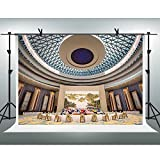 FH 10x7ft United Nations Conference Room Backdrop Landscape Scenery Wallpaper Background for Photography Themed Party YouTube Backdrop Photo Booth Studio Props TMFH064