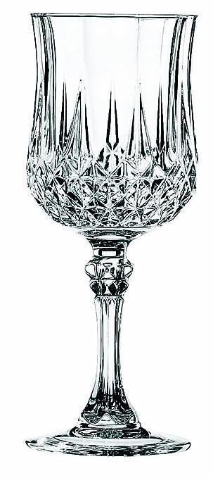 37 opinioni per Cristal d Arques Longchamp Bicchiere per vino 170ml, senza contrassegno di