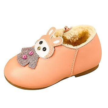 f6404fe92f0 Bébé Fille Chaussures Bateau Ballerines Mocassins Hiver Chaud
