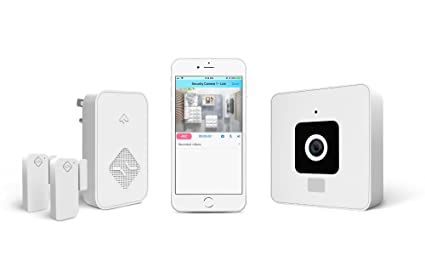 SimplySmart Home Complete Home Security System, Wireless Camera, Door/Window Sensors, Alarm
