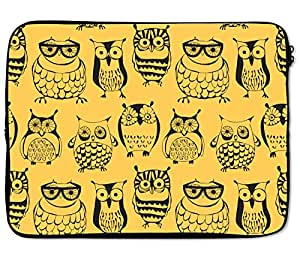 Loud Universe Mixed Yellow Laptop Bags