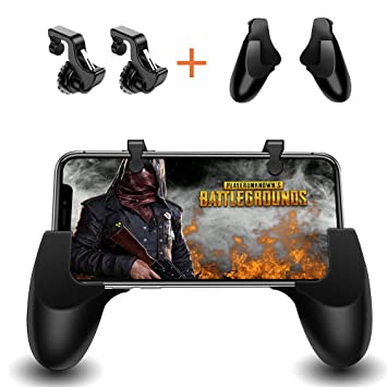 Smiler+ Controlador de Juegos móvil, Disparo Sensible y Aim Keys L1R1 y Gamepad para PUBG