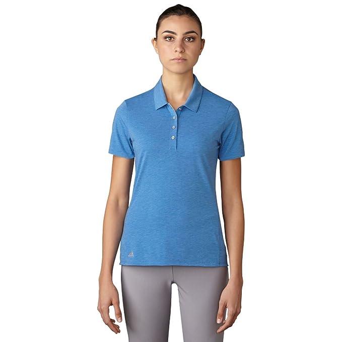 adidas Golf Mujer Essentials algodón Mano Polo de Manga Corta ...