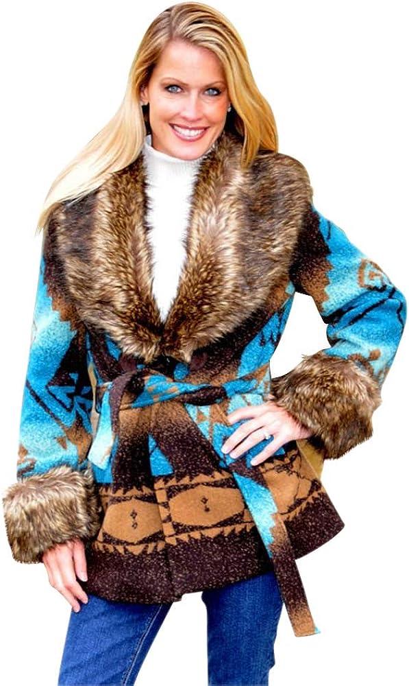 Sheldon G International Western Style Saddle Blanket Jacket