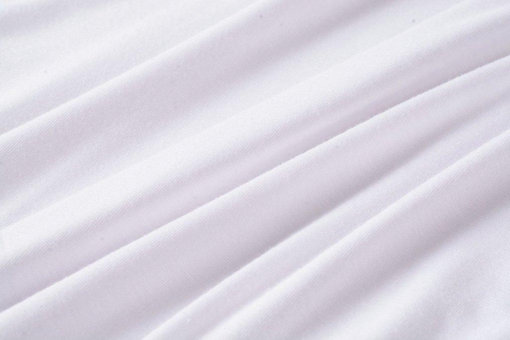 LARACE Women Solid Sleeveless Tunic for Leggings Swing Flare Tank Tops (L, White) by LARACE (Image #7)