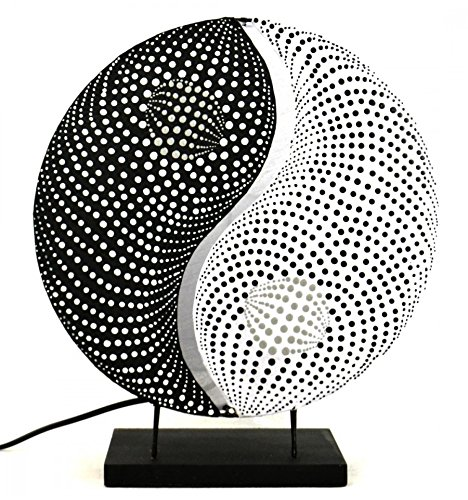 "Lampe De Chevet ""Yin Yang"". Décoration Zen Asiatique.: Amazon.Fr"