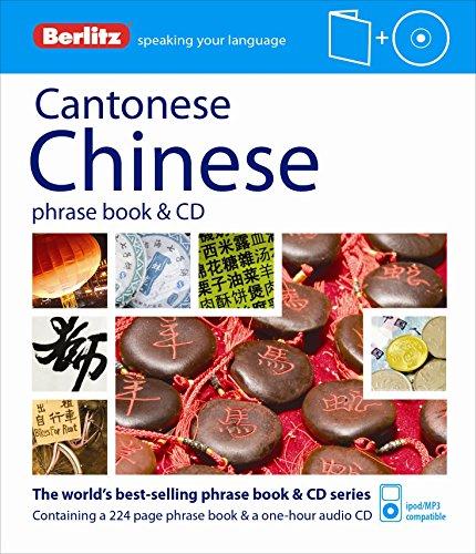 Berlitz Cantonese Chinese Phrase Book & CD (Chinese Edition)...