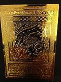 USA Seller Yugioh BLUE-EYES WHITE DRAGON English Golden Metal Card Custom Made