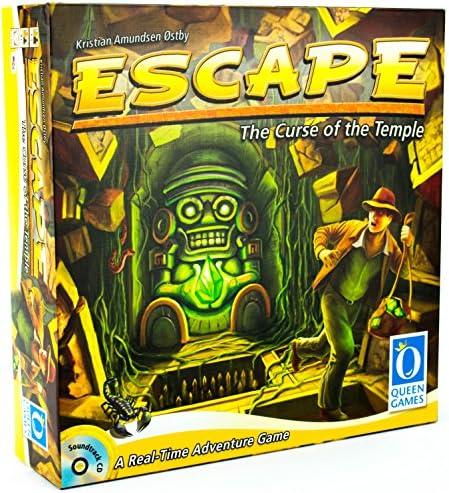ESCAPE - Juego de Tablero (Queen Games QUE60903) [Importado de Inglaterra]: Amazon.es: Juguetes y juegos