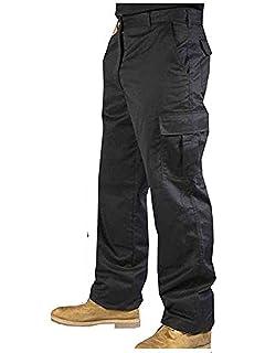 """Mens Work Combat Trousers Mans Cargo Action Pants Sizes 30-50/"""" Waist 29/""""/&31/"""" Leg"""